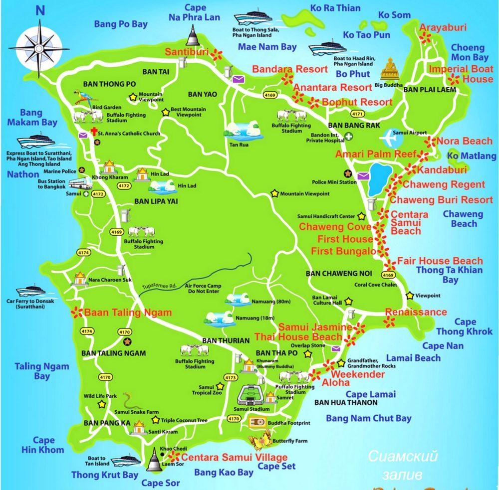 Karta-ostrova-Samui-s-dostoprimechatelnostyami-1000x1024